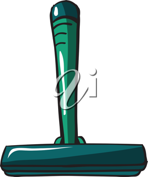 Illustration of a shaver on a white background