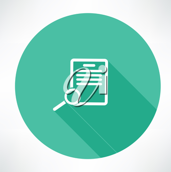 Documents search icon