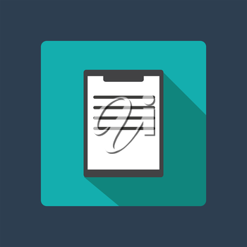 Office tablet icon