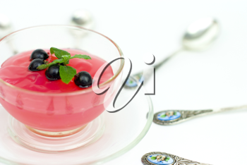 Royalty Free Photo of a Bowl of Sorbet