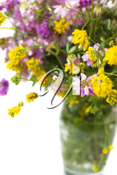 Royalty Free Photo of a Vase of Flowers