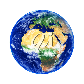 Royalty Free Photo of Earth Showing Africa