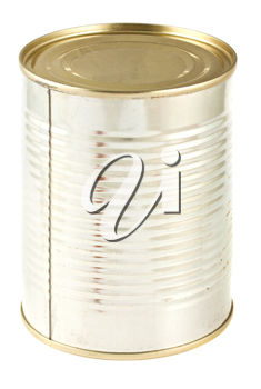 Royalty Free Photo of an Unlabeled Tin Can