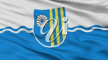 Novalukoml City Flag, Country Belarus, Closeup View, 3D Rendering