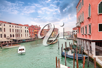 Royalty Free Photo of the Grand Channel in Venice