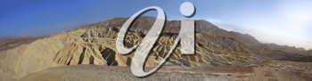 Royalty Free Photo of Zabriskie Point in National Park Death Valley, USA