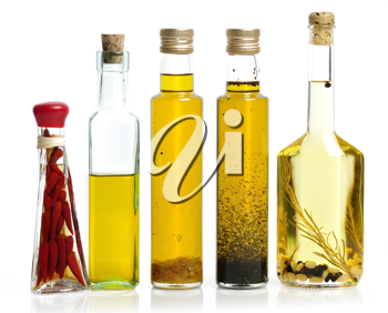 Royalty Free Photo of a Cooking Oil Collection