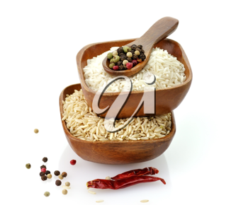 Royalty Free Photo of Bowls of Rice