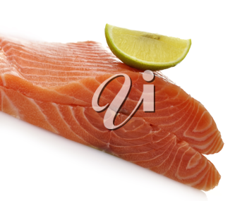 Royalty Free Photo of Raw Salmon Fillets