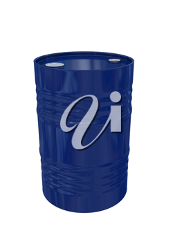 Royalty Free Clipart Image of a Fuel Drum