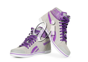 Royalty Free Photo of a Pair of Sneakers