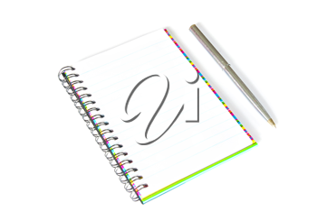 Royalty Free Photo of a Notebook