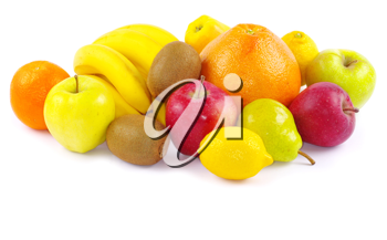 Royalty Free Photo of a Bunch of Fruits