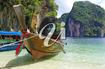 Royalty Free Photo of a Tropical Beach, Andaman Sea, Thailand