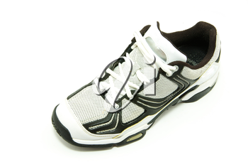 men's running shoes on white