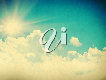 Royalty Free Photo of a Vintage Sky Background