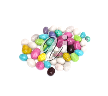 candy colored stones