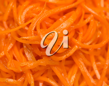 background carrot salad