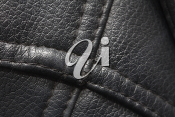 black leather as a background