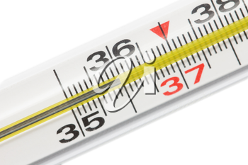 thermometer for people. macro