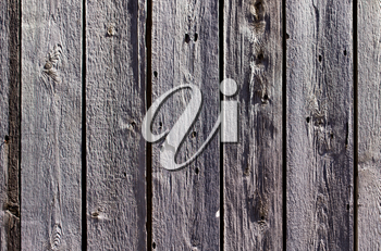 Old wooden boards on fence as background
