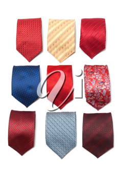 Royalty Free Photo of a Bunch of Ties