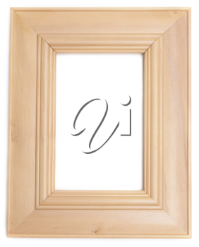 Royalty Free Photo of a Wooden Frame