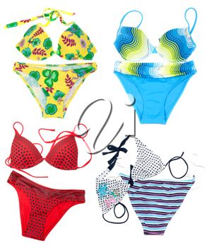 Royalty Free Photo of a Bunch of Bikinis
