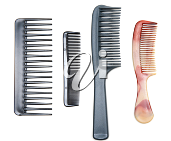 Royalty Free Photo of a Bunch of Combs