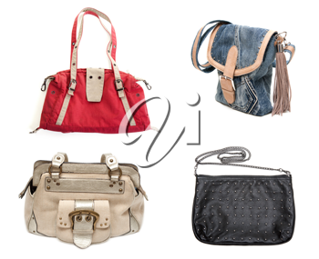 Royalty Free Photo of Four Purses