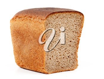 Royalty Free Photo of Half a Loaf of Bread
