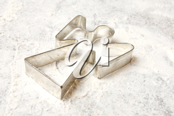 Royalty Free Photo of an Angel Cookie Cutter
