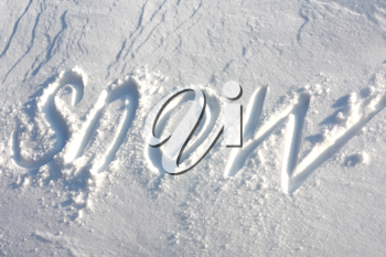 Royalty Free Photo of Snow