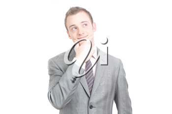 Royalty Free Photo of a Businessman