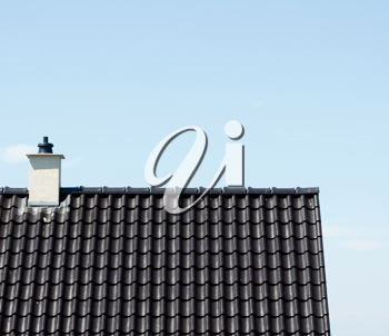 Royalty Free Photo of a Rooftop