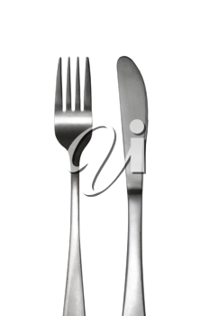 Royalty Free Photo of a Fork and Knife
