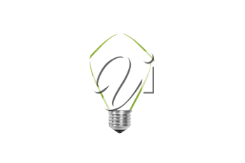Royalty Free Photo of a Green Energy Concept