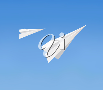 Royalty Free Photo of Paper Planes