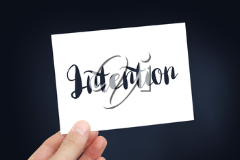 Intention concept