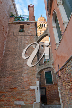 Royalty Free Photo of a Building in Venice
