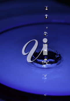 Royalty Free Photo of Water Drops