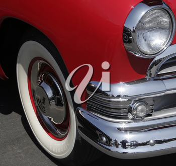 Royalty Free Photo of a Vintage Old Car
