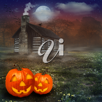 Halloween abstract backgrounds for your design