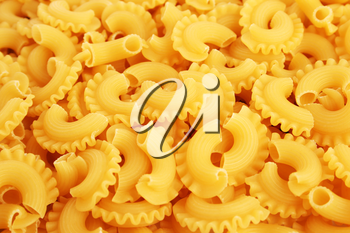 Royalty Free Photo of Raw Pasta