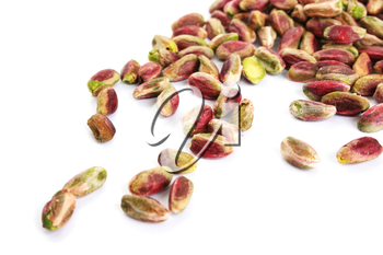 Royalty Free Photo of a Pile of Pistachios