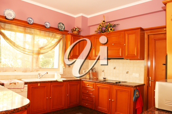 Royalty Free Photo of a Kitchen