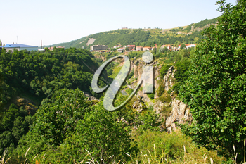Royalty Free Photo of a Mountain in Jermuk, Armenia
