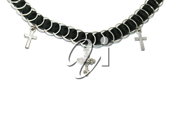 Royalty Free Photo of a Cross Necklace