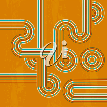 retro abstract background in vector format