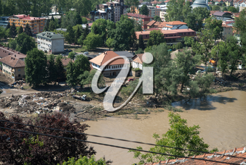 Flood in 2014 - Maglaj - Bosnia And Herzegovina